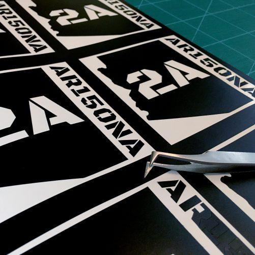 AR15ONA AZ2A Vinyl Decal