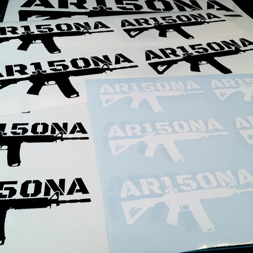 AR15ONA Rifle Vinyl Decal - Sticker