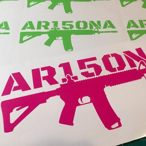 AR15ONA Vinyl Decal