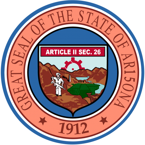 AR15ONA State Seal Sticker